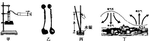 有气压值的天气预报_下列例子中,不属于利用大气压工作的是 - 教习网